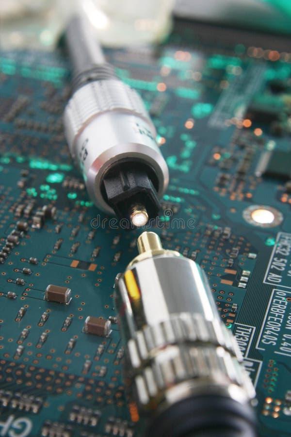 电缆电汇 免版税库存图片