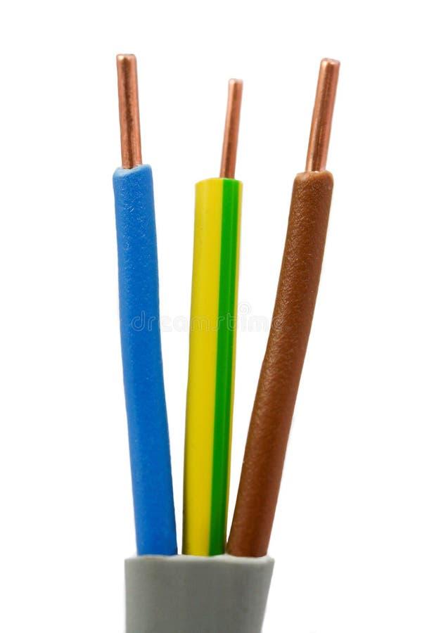 电缆电电线 免版税库存图片