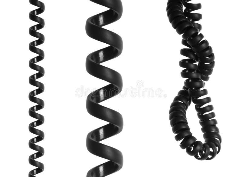 电缆电话 免版税库存照片