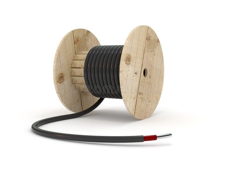 电缆的汉克 向量例证