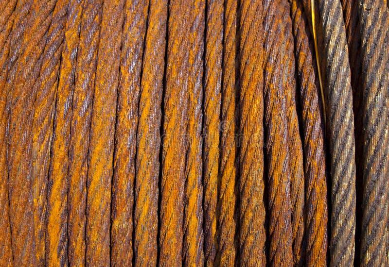 电缆钢 免版税库存照片