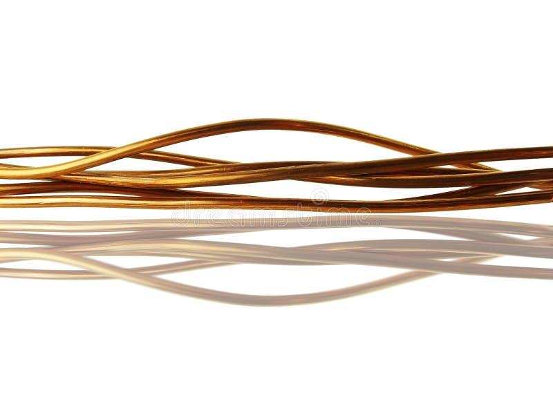 电缆铜 免版税库存照片