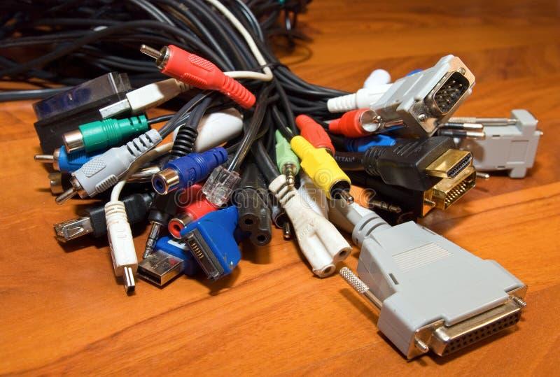 电缆 库存照片