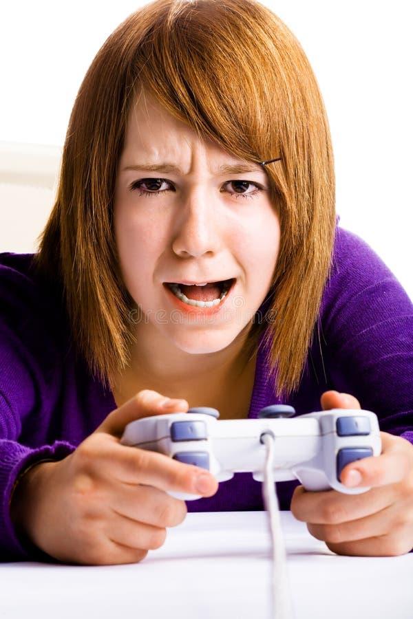 电脑游戏 免版税库存照片