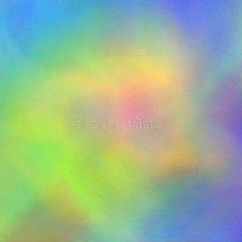 电视信号五颜六色的抽象背景的呈虹彩干涉您的设计的 信号错误 向量 向量例证