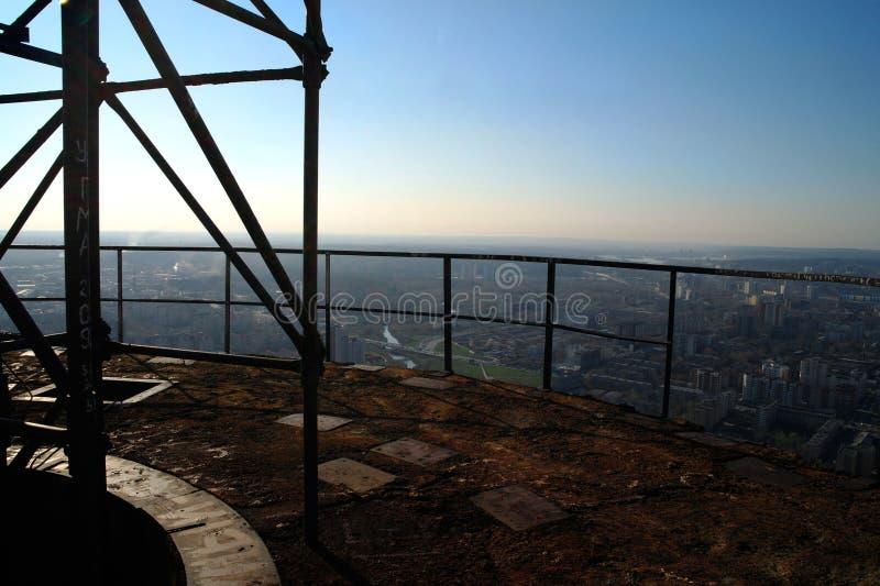 电视塔在叶卡捷琳堡 库存图片