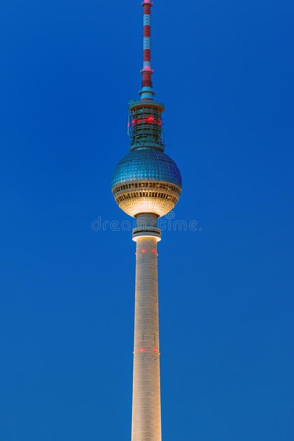 电视塔在柏林 库存图片