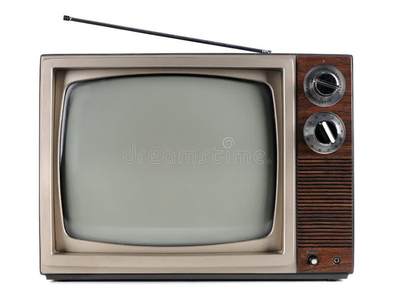 电视葡萄酒 免版税图库摄影