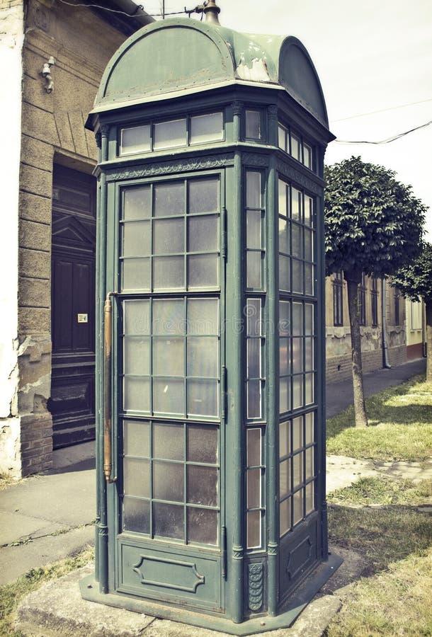 电话亭 免版税库存图片