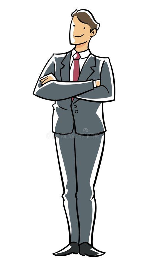 电话会议执行委员 库存例证