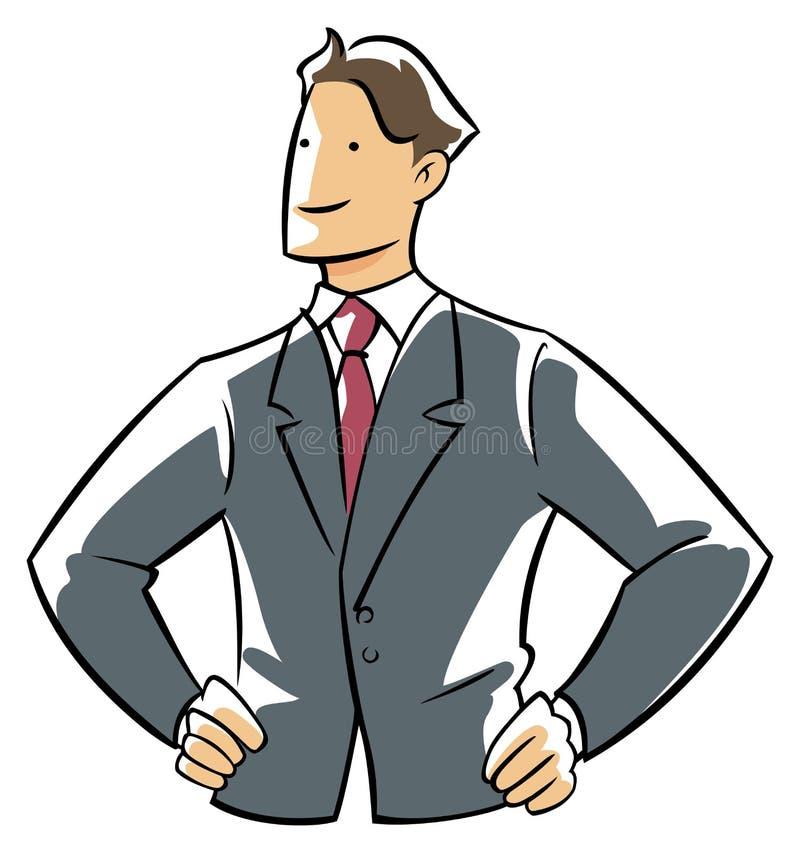 电话会议执行委员 向量例证