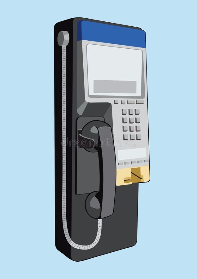 电话公共 皇族释放例证