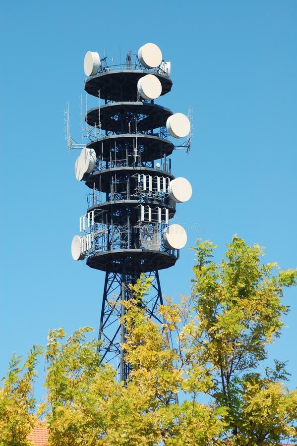 电话塔 库存图片