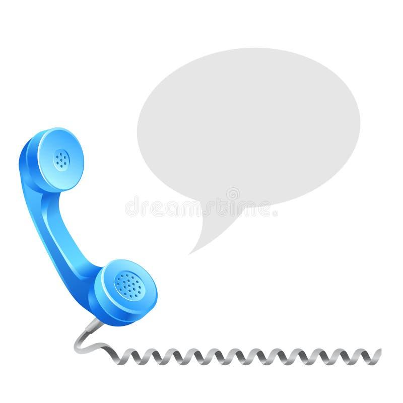 电话接受 库存例证