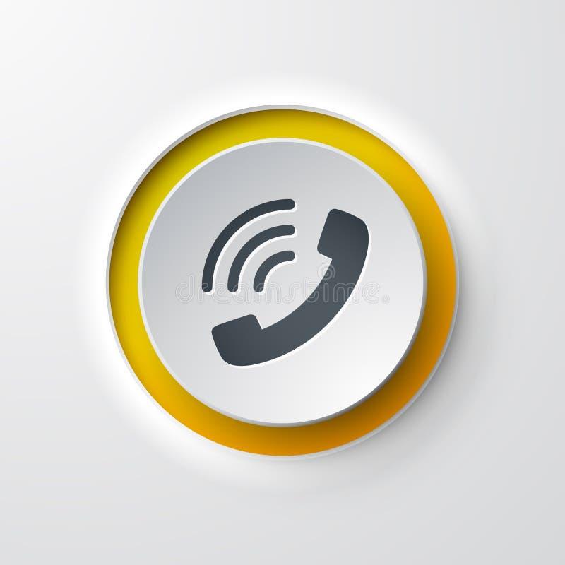 电话网象 库存例证
