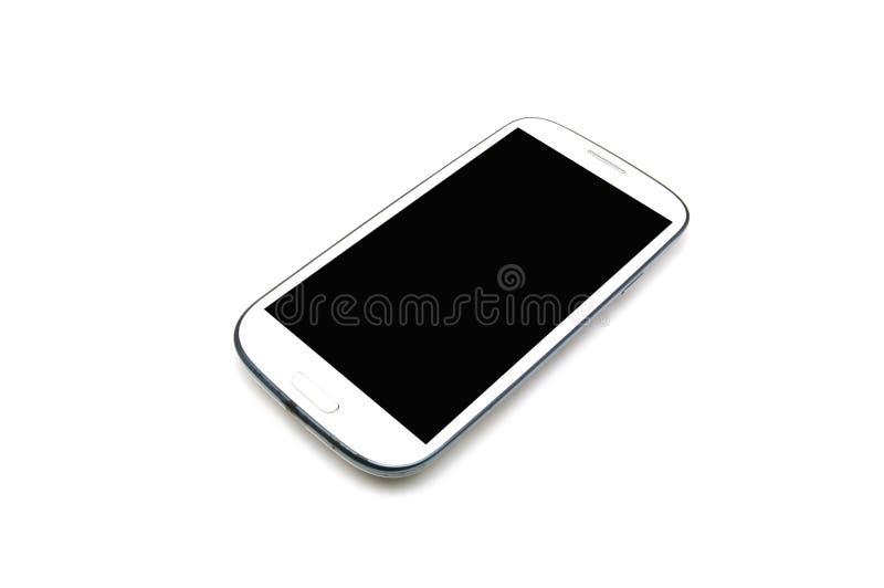 电话聪明的白色 库存照片