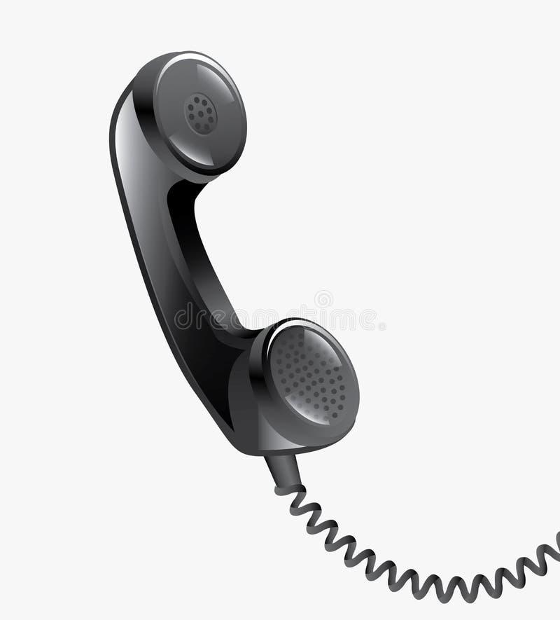 电话设计 库存例证