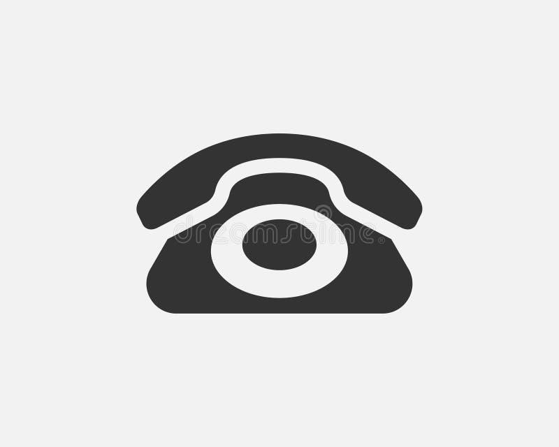 电话象传染媒介例证 电话中心应用程序 电话象时髦平的样式 皇族释放例证