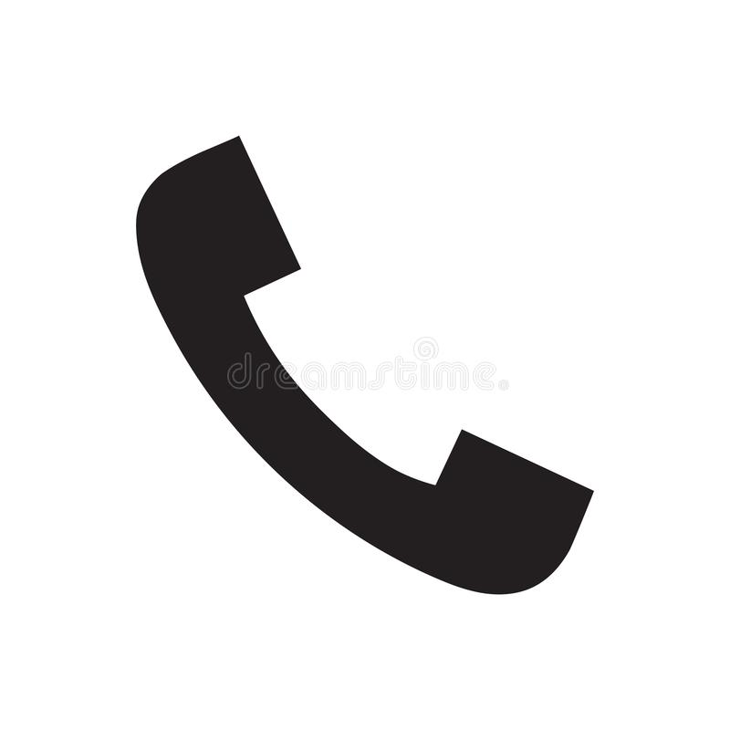 电话象传染媒介例证 E 库存例证