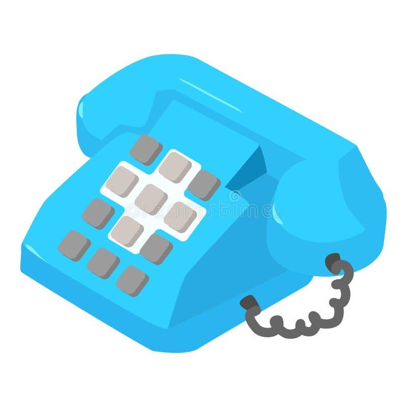 电话象,等量样式 向量例证