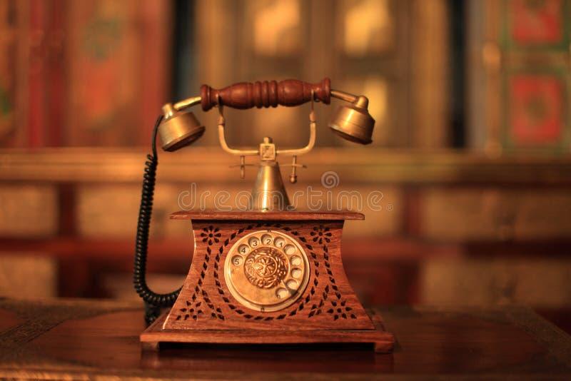 电话,用具,老事,被忘记的事,葡萄酒 免版税库存照片