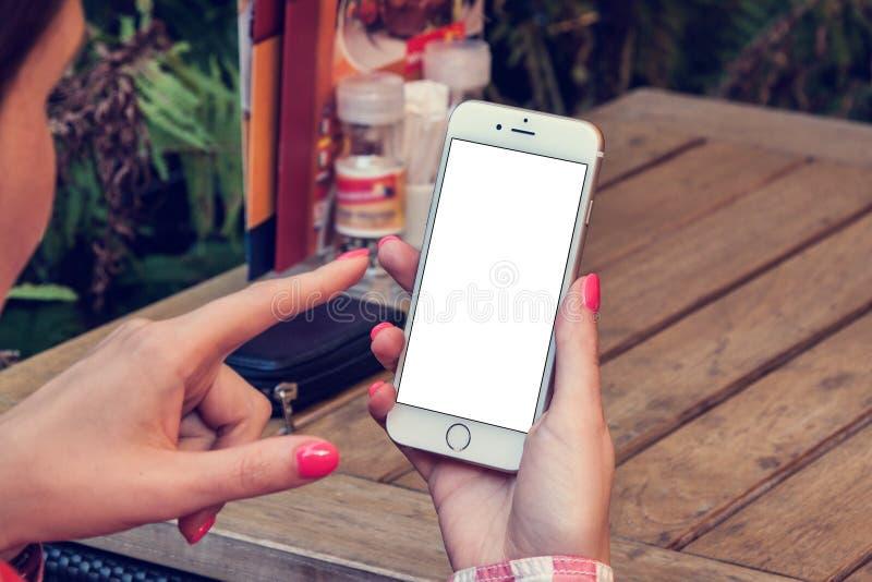 电话6大模型 免版税图库摄影