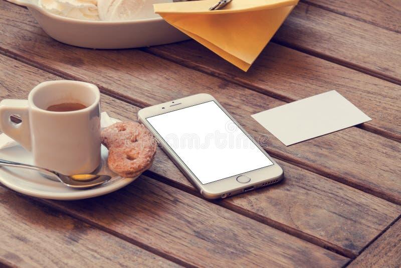 电话6大模型 免版税库存图片