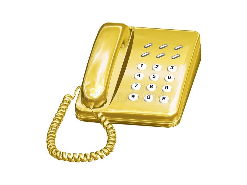电话 库存例证