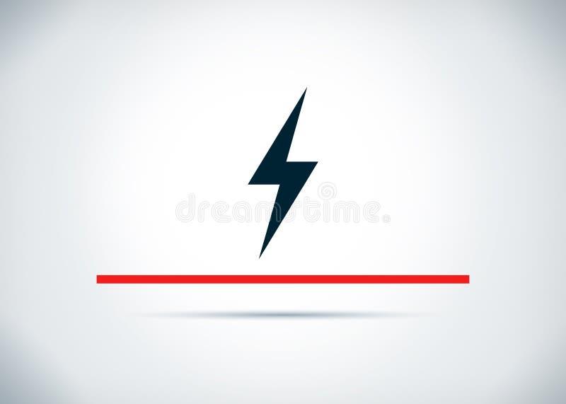 电象摘要平的背景设计例证 库存例证