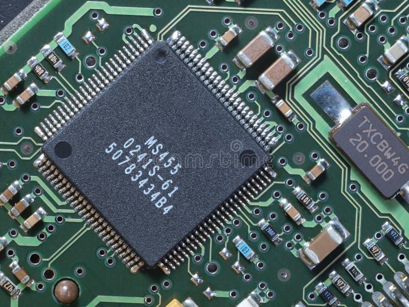 电路计算机 免版税图库摄影