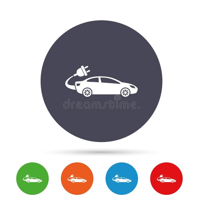 电车标志象 轿车交谊厅标志 向量例证