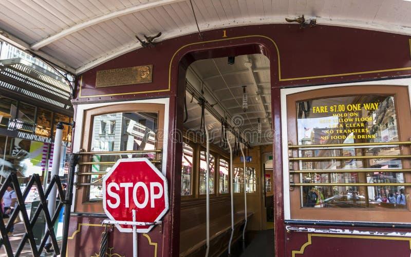 电车,旧金山,加利福尼亚,美国,北美洲 库存图片