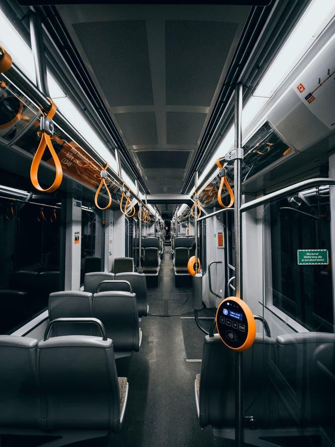 电车,电车乘驾 库存图片