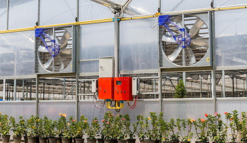 电通风设备 免版税库存图片