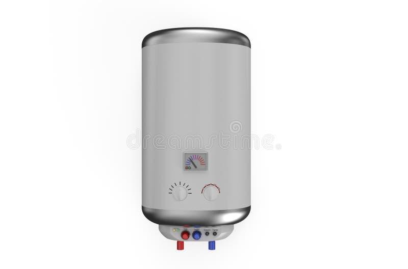 电锅炉,水加热器1 库存例证