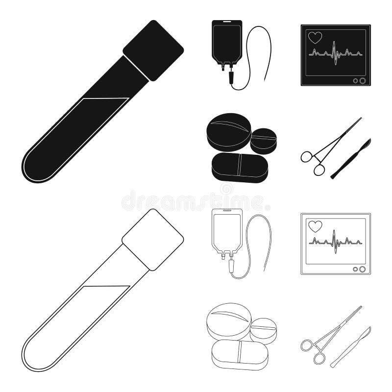 电镀器官,喇叭,小手鼓,串吉他 乐器设置了在黑色,概述样式的汇集象 皇族释放例证