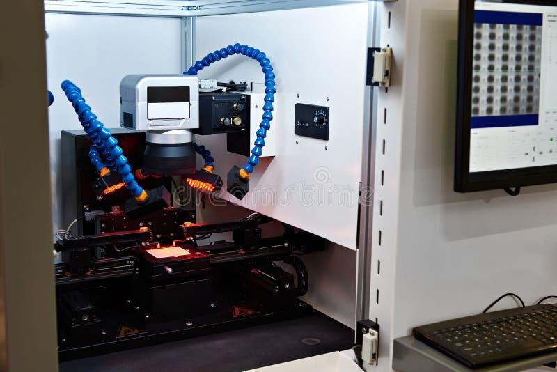 电阻器激光配件的复合体  免版税库存图片