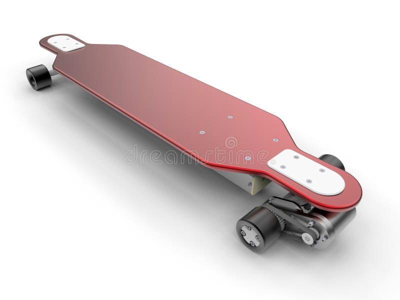 电滑板 向量例证