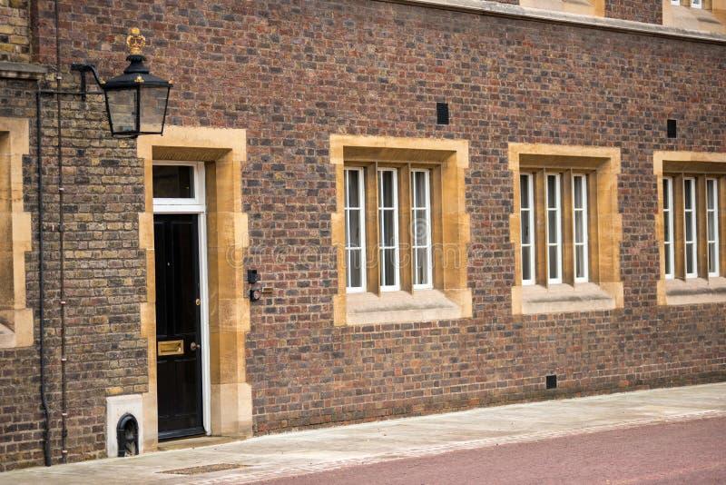 男修道院法院大厦,伦敦,英国 免版税库存照片