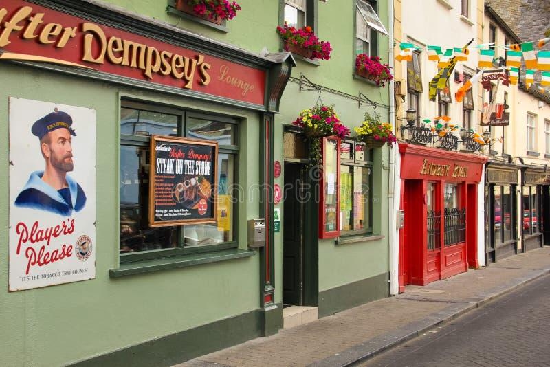男修道院街道 基尔肯尼 爱尔兰 免版税库存图片