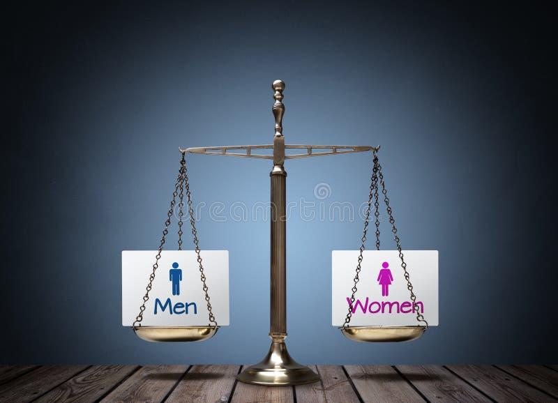 男女平等 免版税库存图片