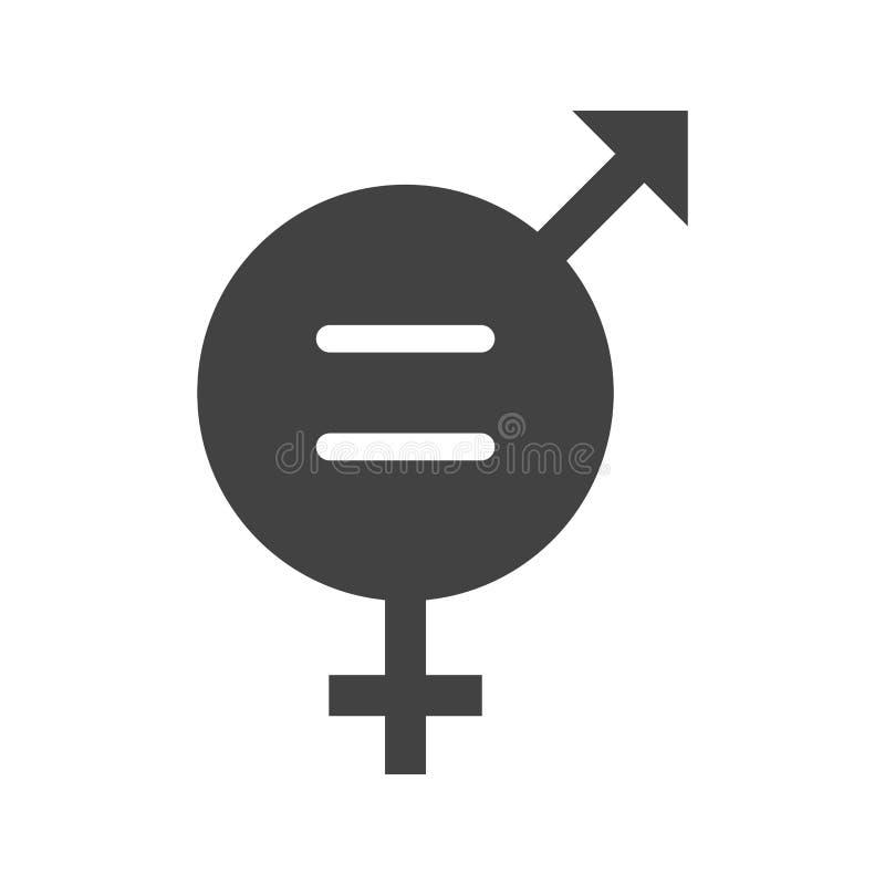 男女平等 库存例证