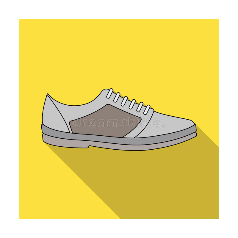 男女皆宜白色的运动鞋系带  鞋子为体育和日常生活 不同的鞋子选拔在平的样式传染媒介标志的象 库存例证
