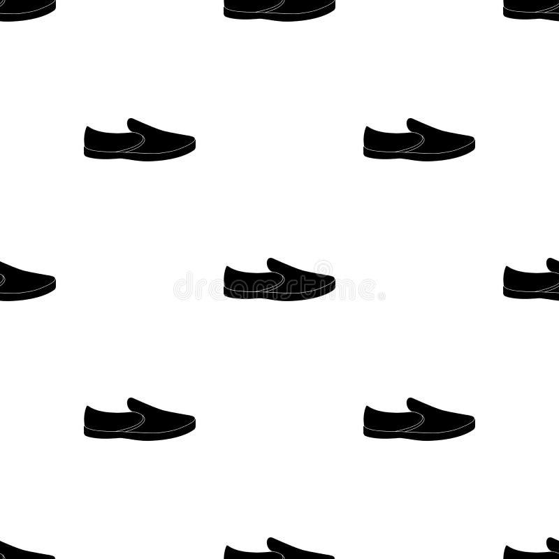 男女皆宜白色的运动鞋系带  鞋子为体育和日常生活 不同的鞋子选拔在黑样式传染媒介的象 皇族释放例证