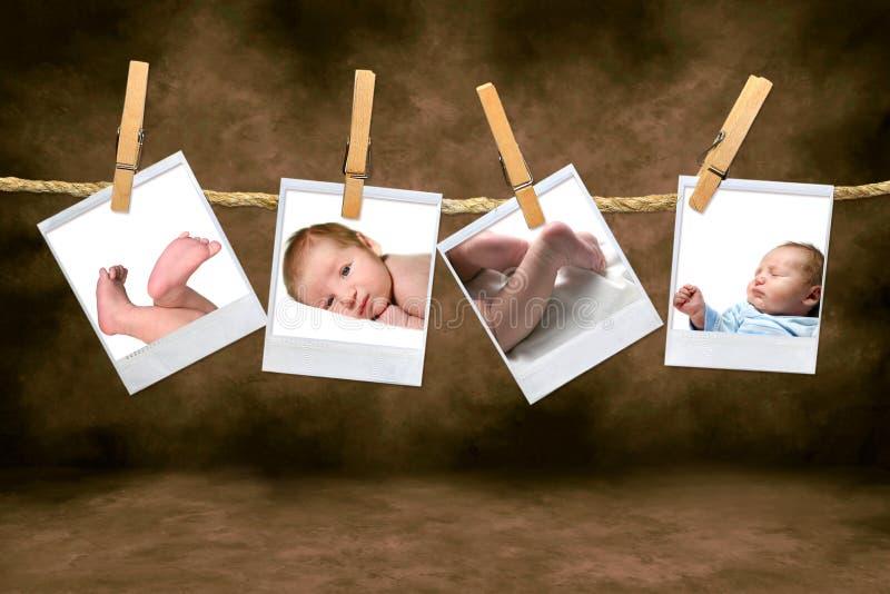 男婴颜色照片 库存照片