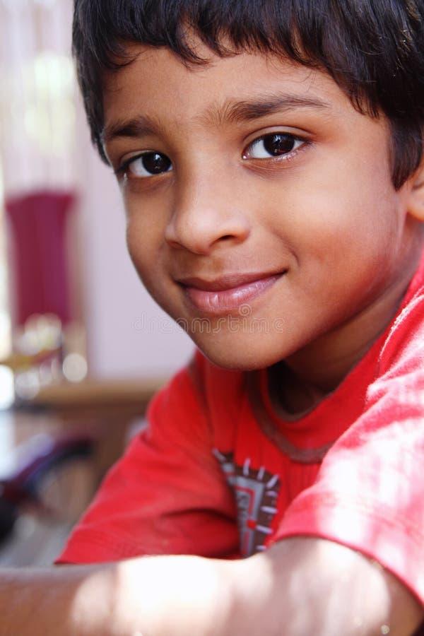 男孩印地安人 库存照片