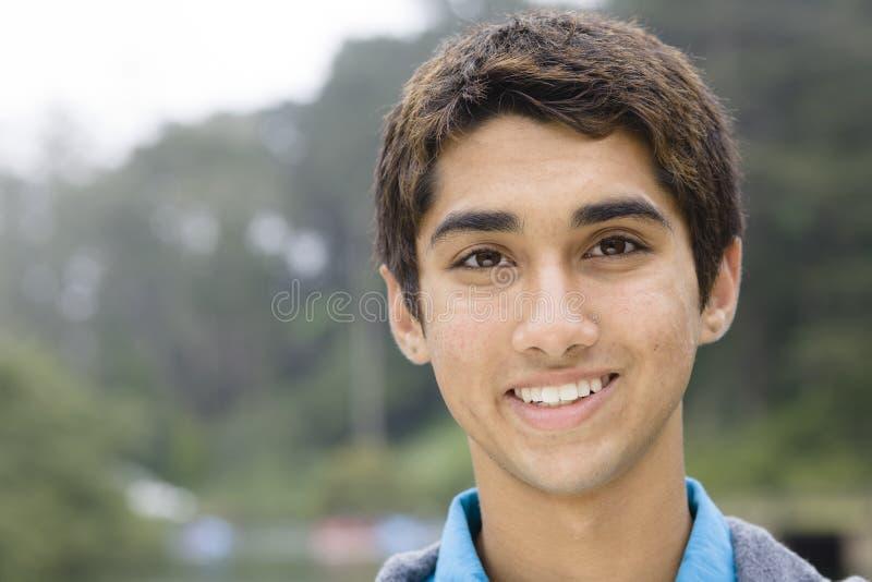 男孩印第安少年 免版税图库摄影