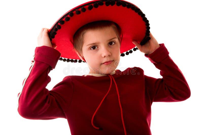 男孩墨西哥 免版税库存图片