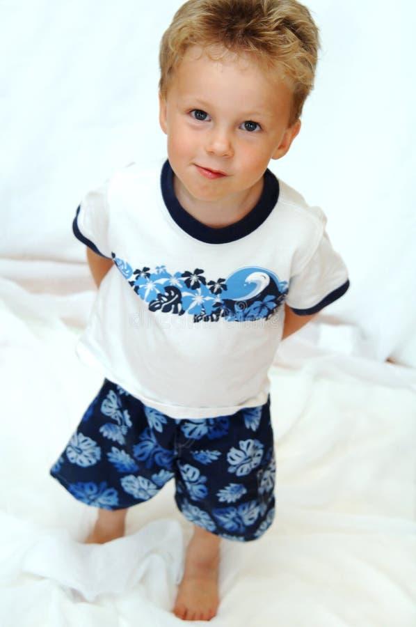 男孩小孩 图库摄影