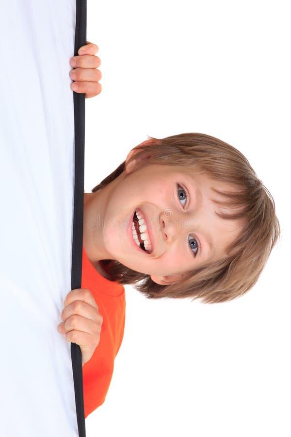 男孩愉快的年轻人 库存照片